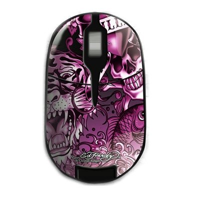 Ed Hardy Pro Wireless Mouse Pink (Limited Edition)